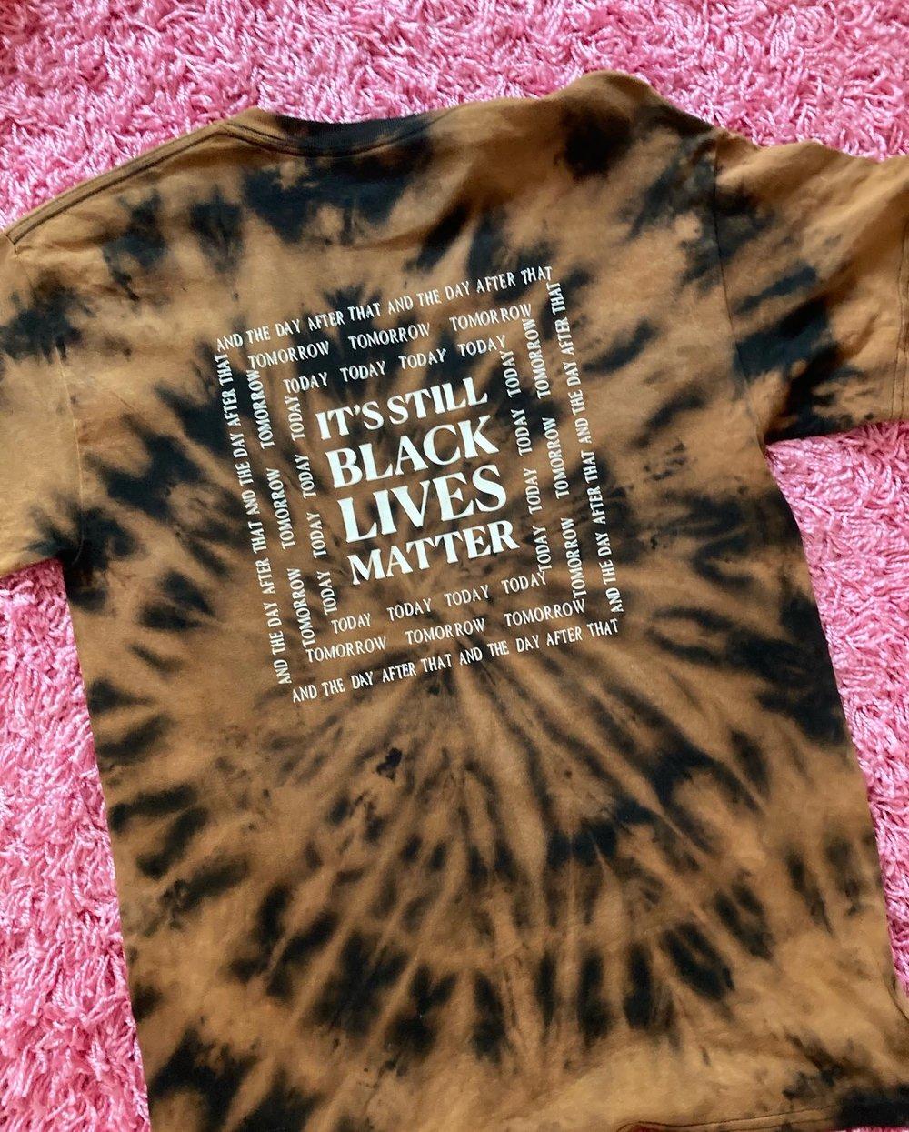 IT'S STILL BLACK LIVES MATTER