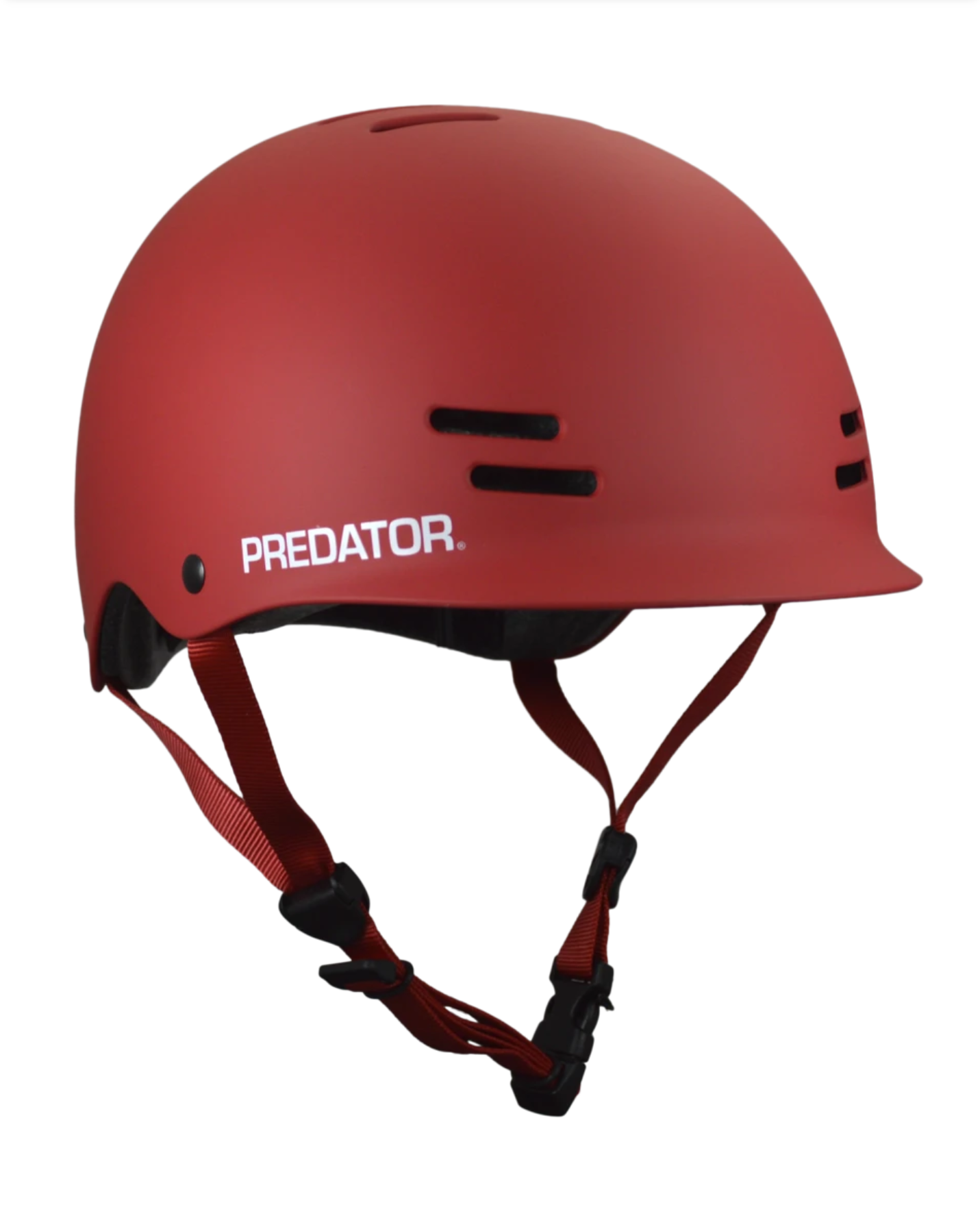 Image of Predator Helmets - FR7 Certified - Red + Free Sticker Pack