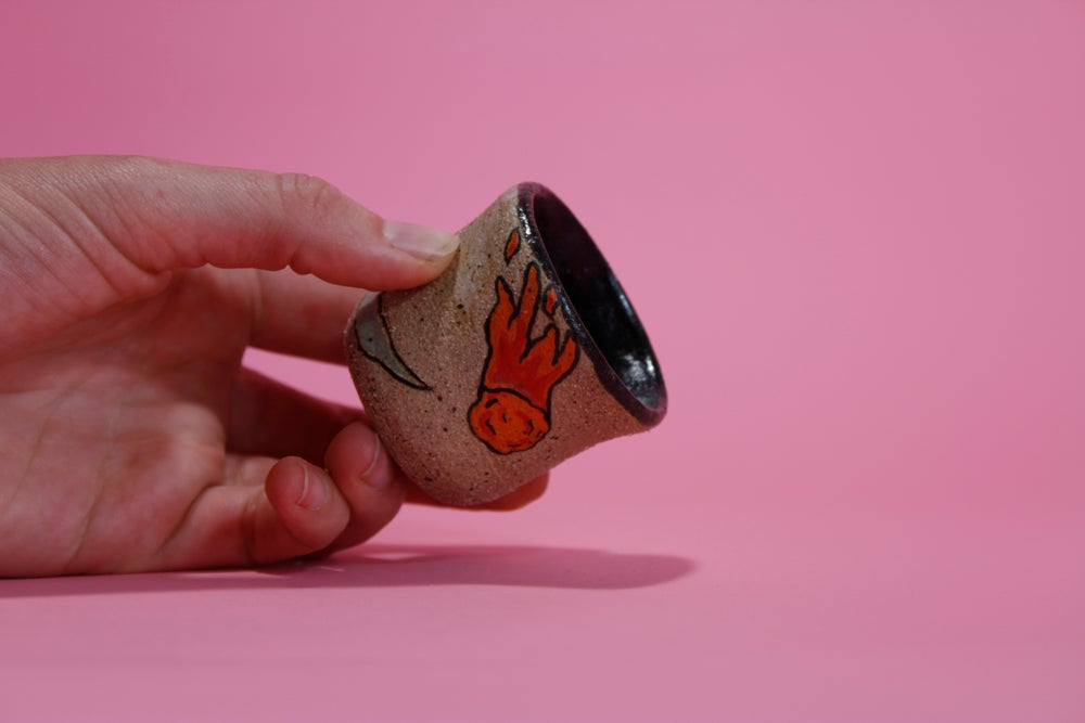 Image of Dinosaur Shot Glass - ceramic