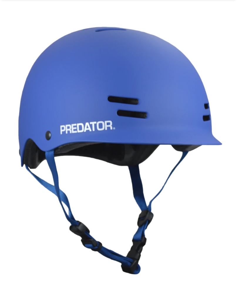 Image of Predator Helmets - FR7 Certified - Blue + Free Sticker Pack