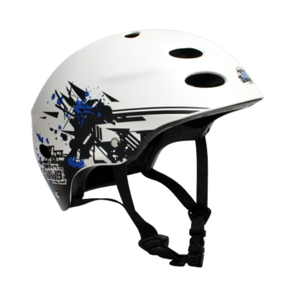 Image of MBS HELMET - GRAFSTRACT - WHITE