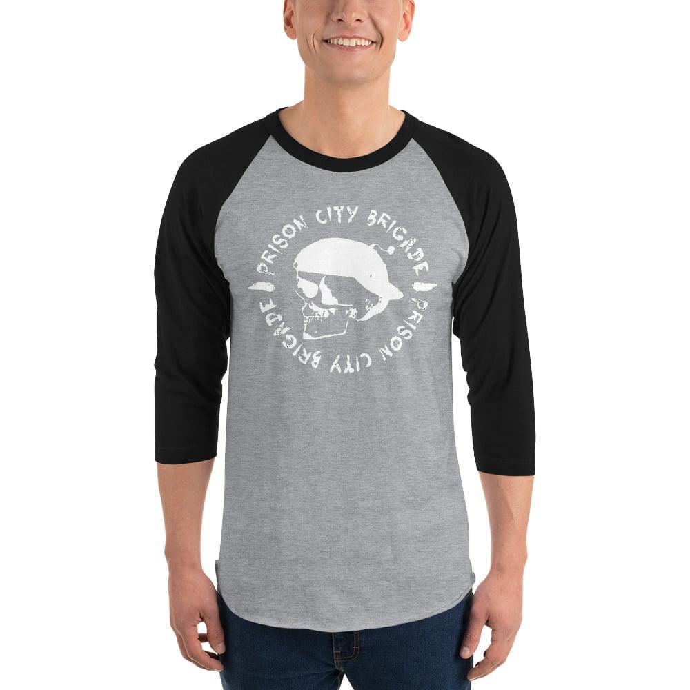 3/4 Sleeve Unisex BombSkull Shirt