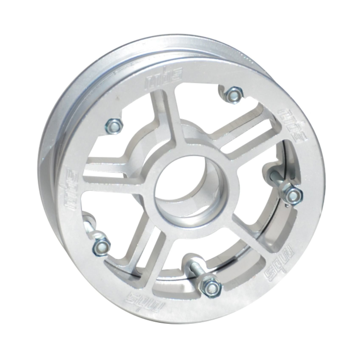 Image of MBS Rockstar Pro Hub - Silver (1)