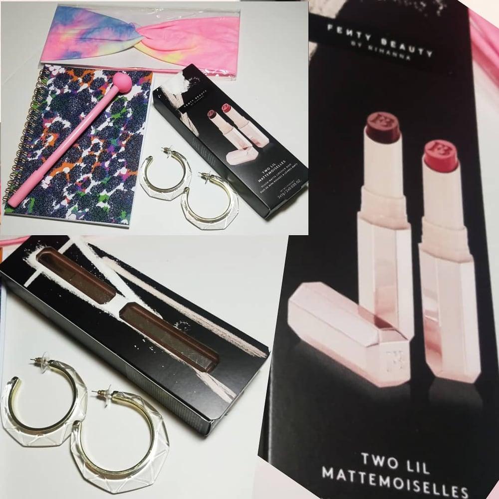 Fenty Beauty Two Lil Mattemoiselles Lipstick Accessories Bundle