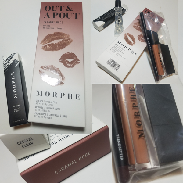 Image of Out & A Pout Caramel Nude Morphe Lip Bundle