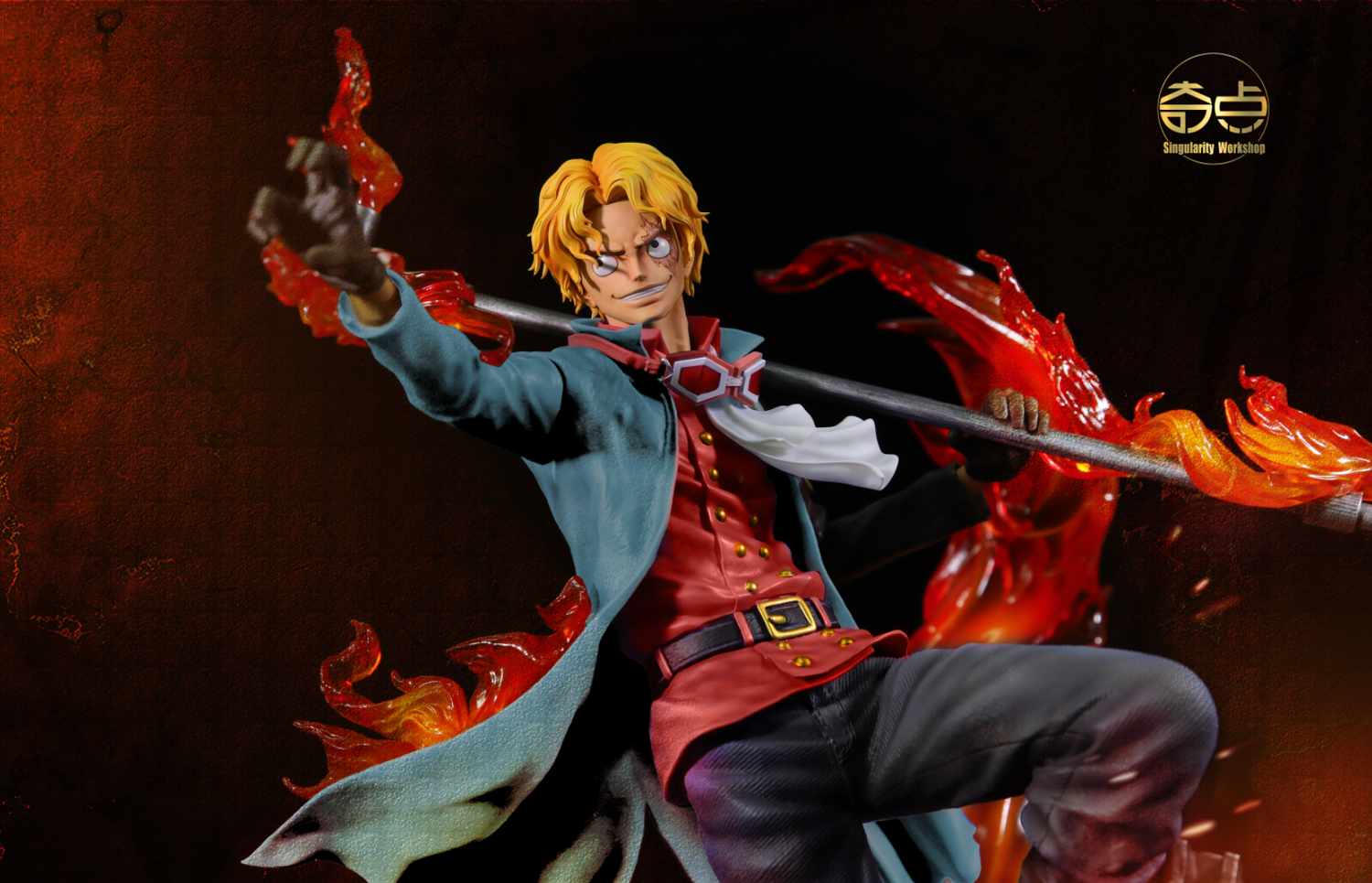 Image of [In-Stock]One Piece Singularity Workshop Sabo(movie version) Resin Statue