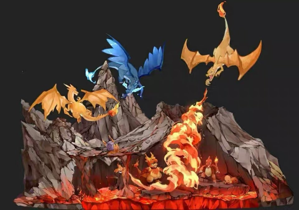Image of [In-Stock]Pokemon Gene Studio Charizard Resin Statue