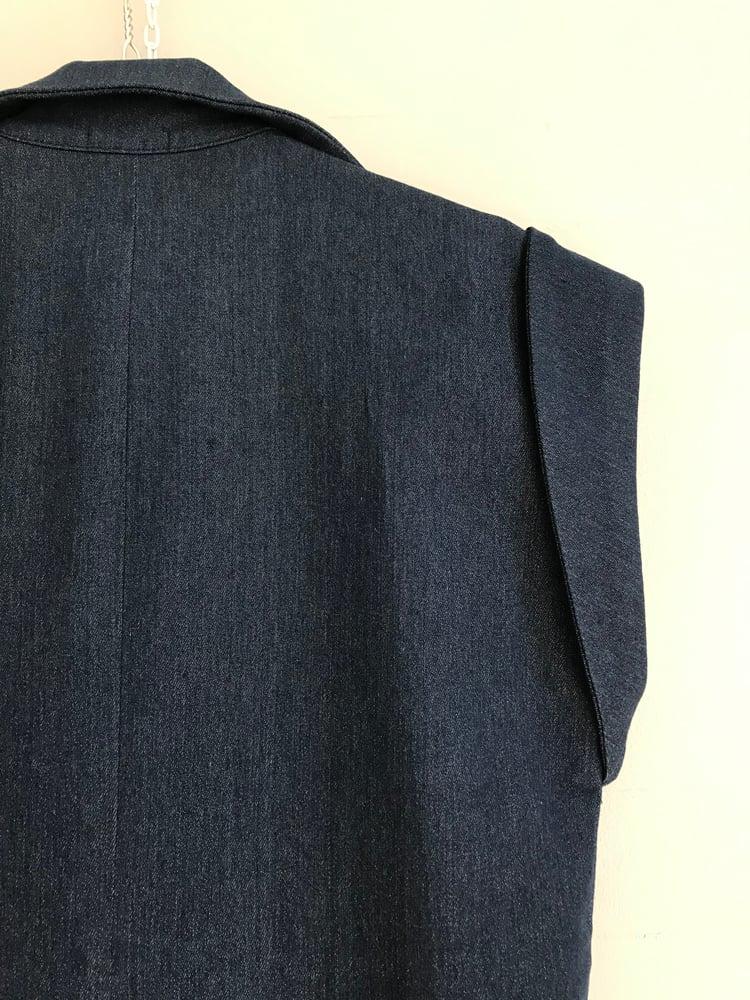 Image of Josephine buksedragt i mørk jeans