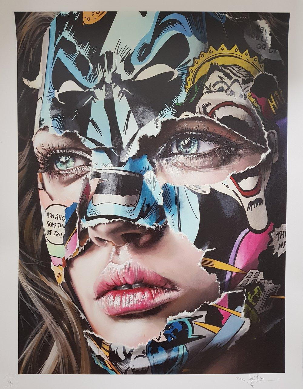 """Image of SANDRA CHEVRIER """"LA CAGE ET LES PORTES DU REVE"""" - 23 COLOUR SCREENPRINT - 90CM X 69CM"""