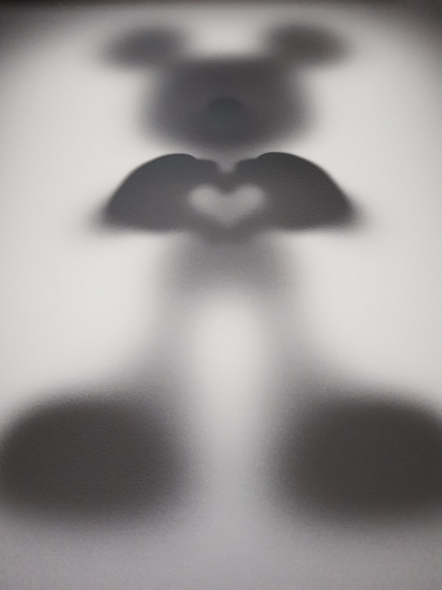 """Image of GONE """"SHARE THE LOVE""""- XL LIMITED EDITION OF 75 - 90CM X 90CM"""