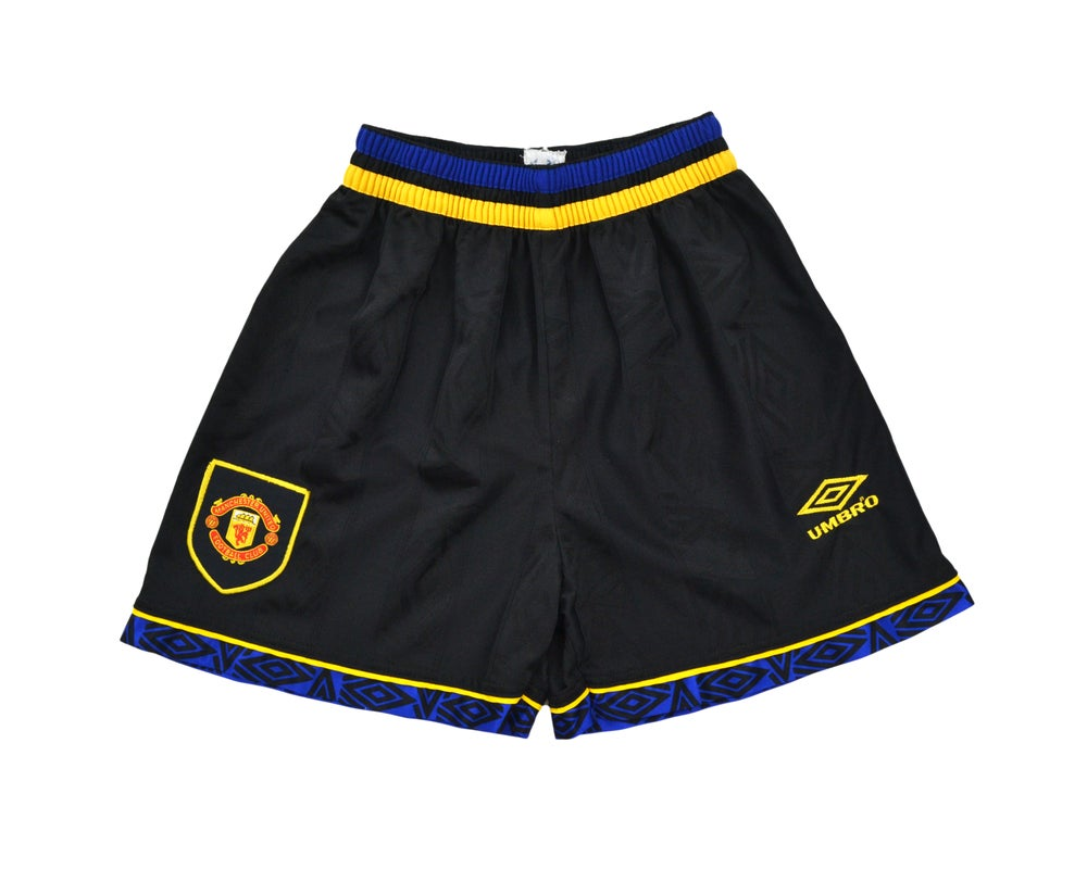 Image of 1993-95 Umbro Manchester United Away Shorts S/M