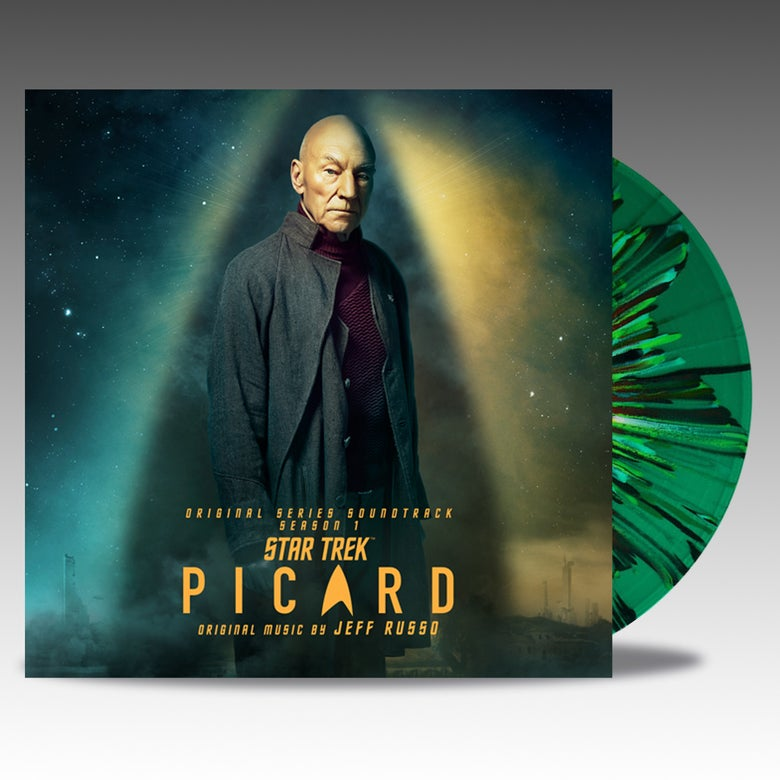 Image of Star Trek Picard  (Original Series Soundtrack) - 'Transparent Green W/ Splatter' Vinyl - Jeff Russo