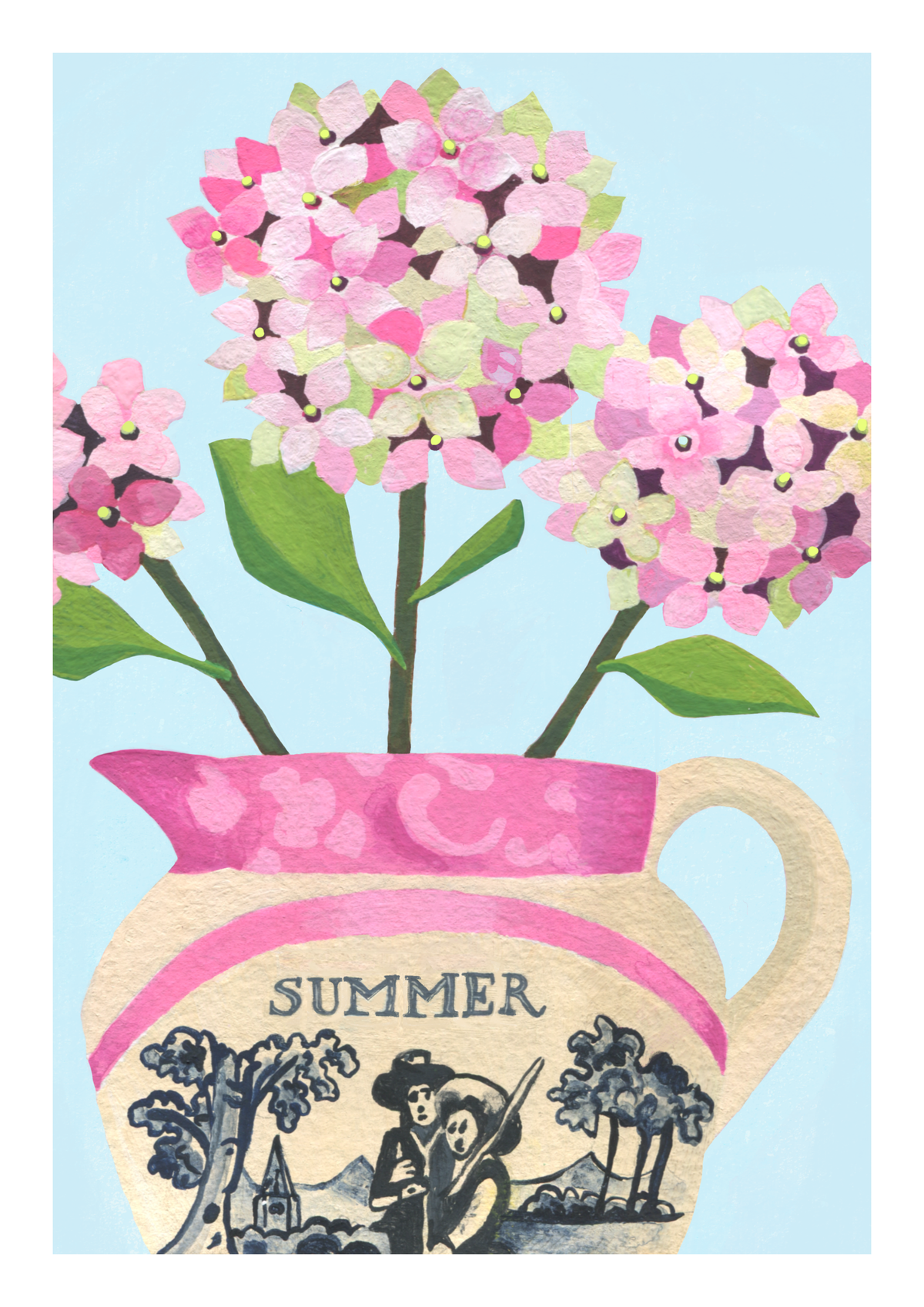 Summer Blooms - Set of 3 Prints