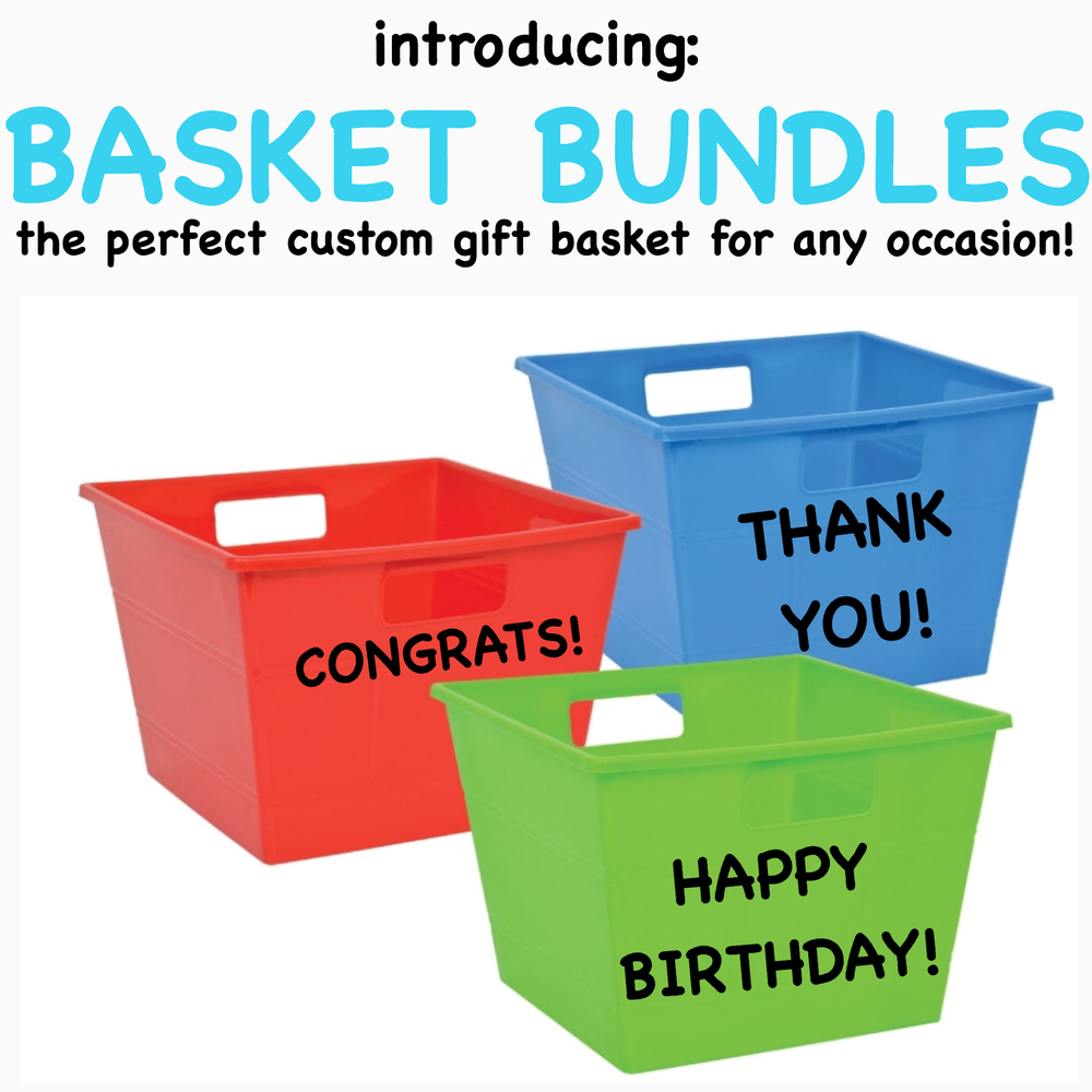 "BASKET BUNDLES  (LEAVE CONTACT INFO IN ""CONTACT"" TAB FOR CUSTOMIZATION)"