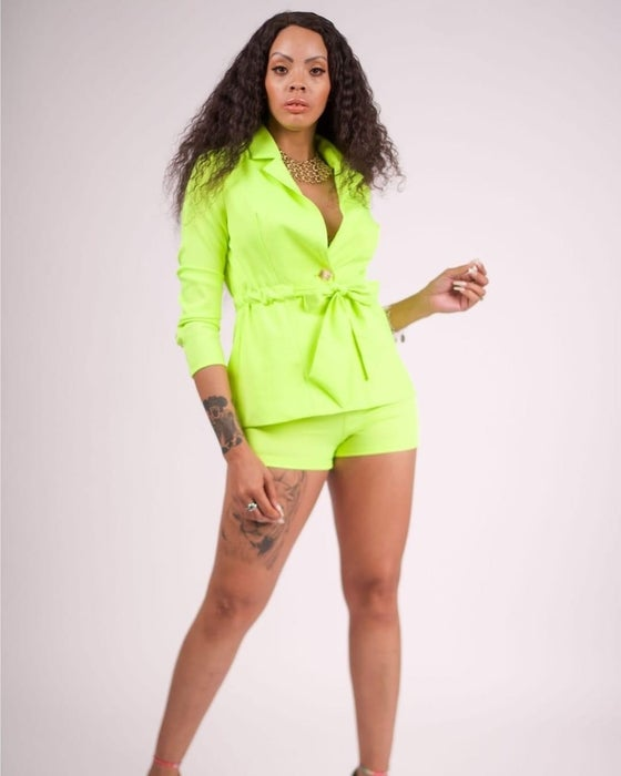 Image of Neon Green 2 Piece Set