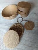 Image 1 of Kit DolceVita- portachiavi, ciotola-mistiera, grinder, vasetto