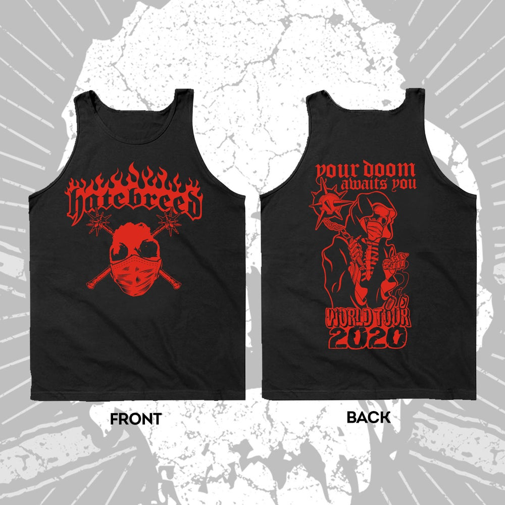 Image of HATEBREED 2020 TOUR TANK TOP BLACK