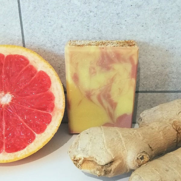 Image of Grapefruit + Ginger Soap