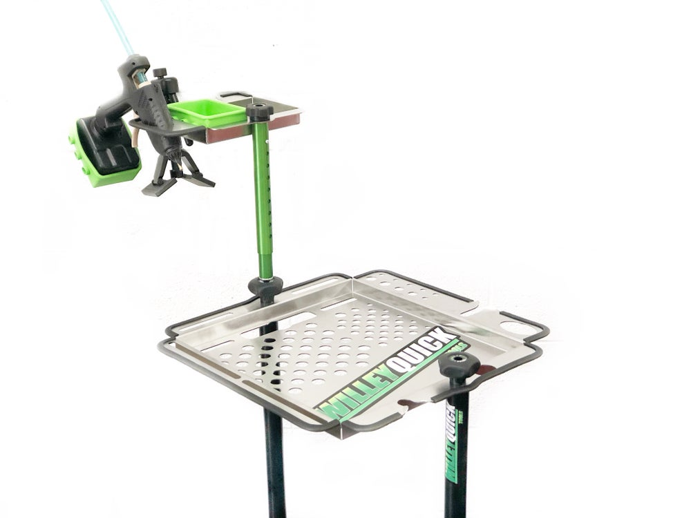 Image of Tool cart glue tray green