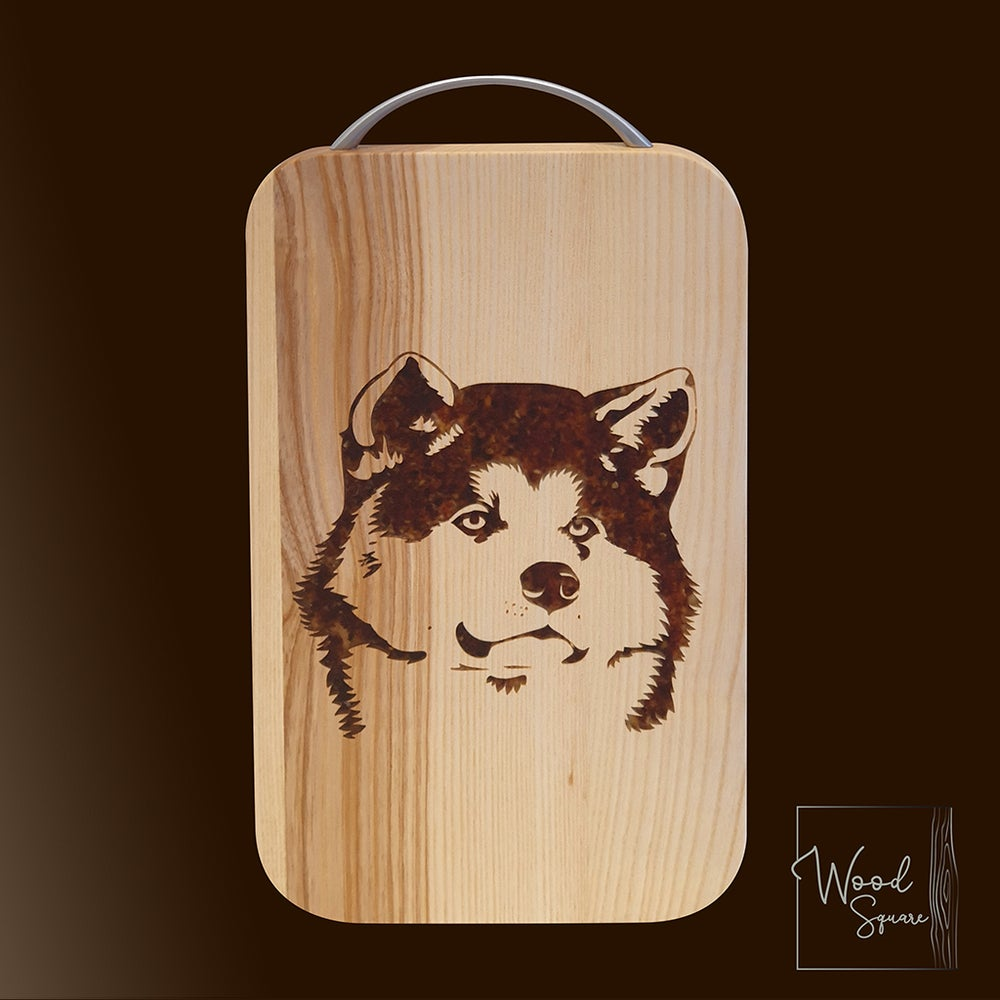 Image of Akita Inu chopping board