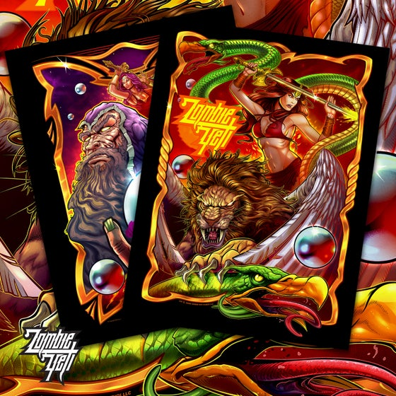 Image of Limited Edition Pinball Art Print Set