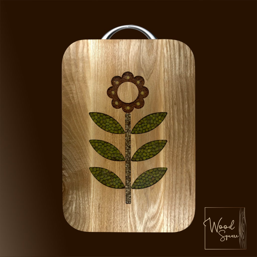 Image of Flower Chopping board
