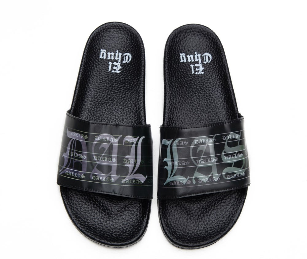 Image of DALLAS HOLOGRAM SLIDES (NOW SHIPPING)
