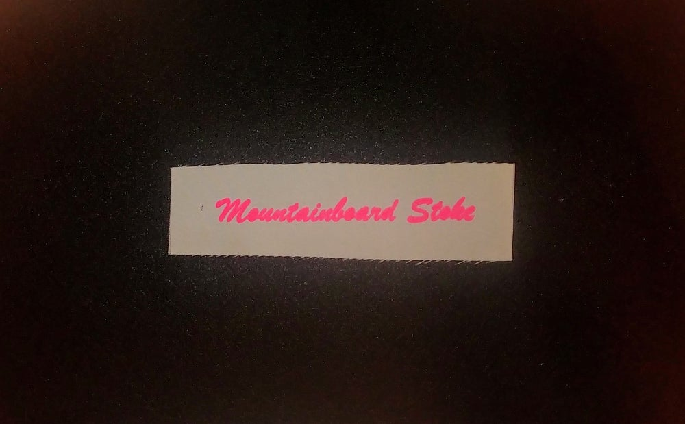 "Image of Fabric Patch - ""Mountainboard Stoke"" - Shred Life"