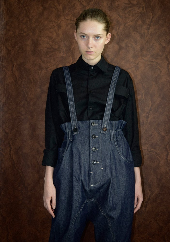 Image of AW20 - JEANS W/SUSPENDER