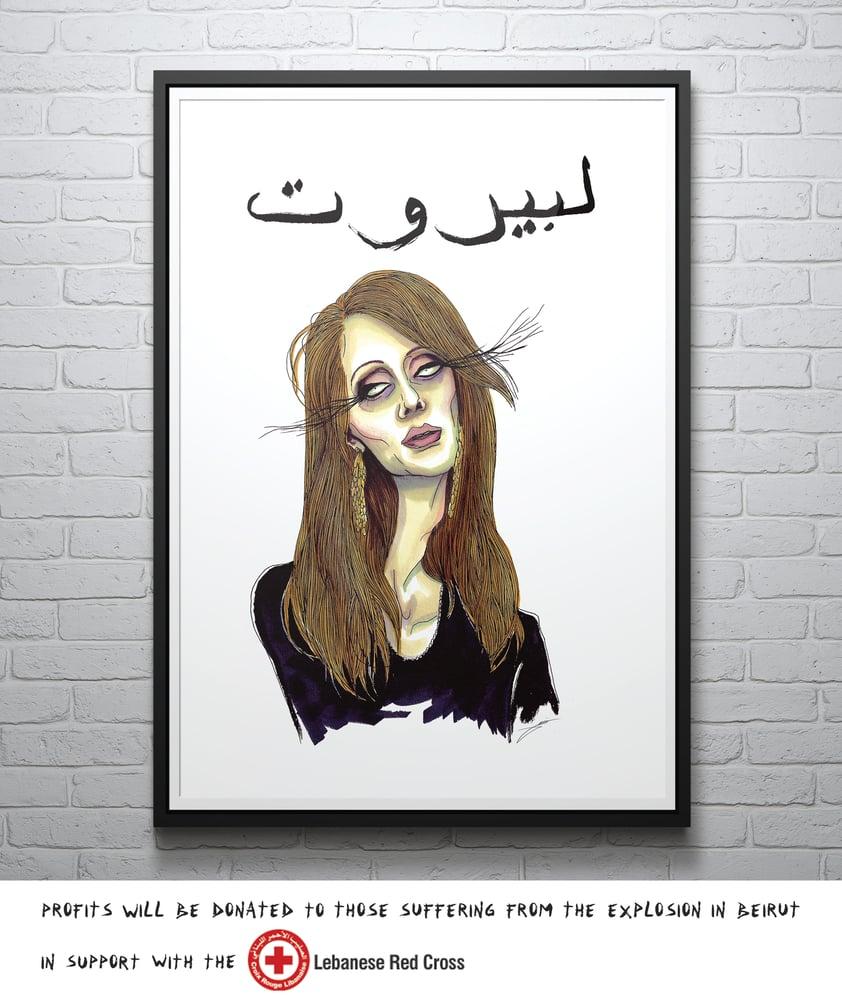 Image of LE BEIRUT – Print