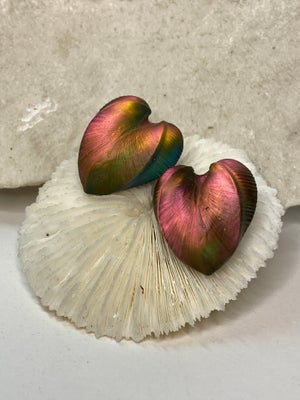 Details of the Heart Earrings