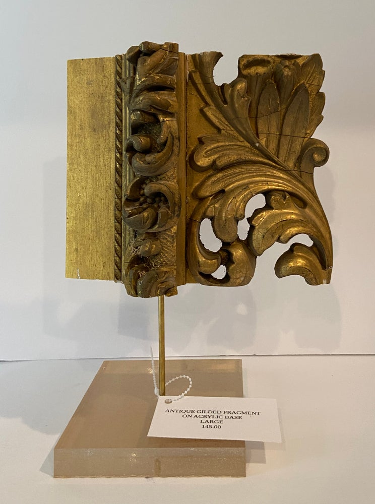 Image of ANTIQUE GILDED FRAGMENT VERTICAL