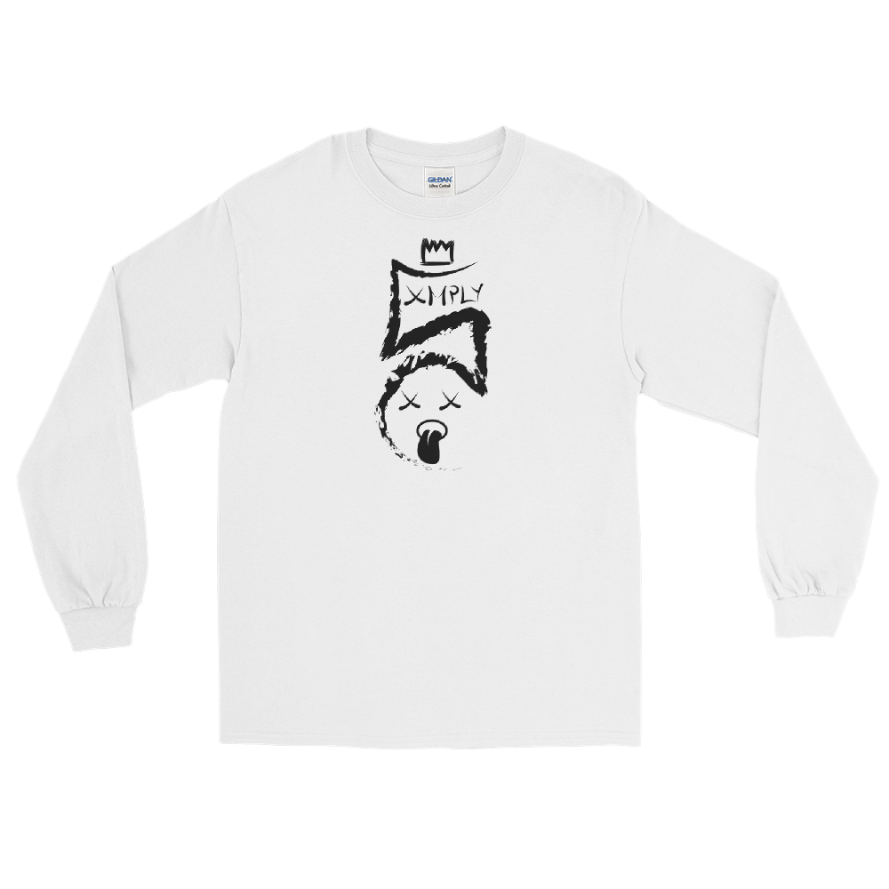 Image of Simply Chris Logo Long Sleeve Tee