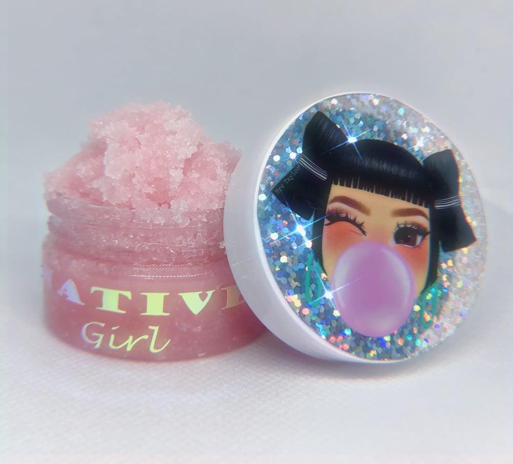 "Image of ""Bubble Gum Yum"" lip scrub"
