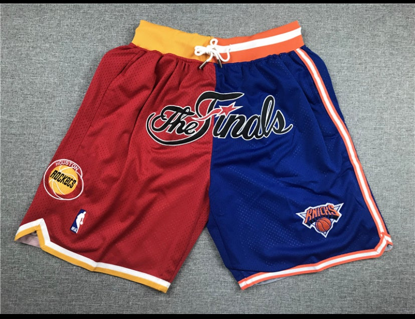 Image of Rockets/knicks finals shorts