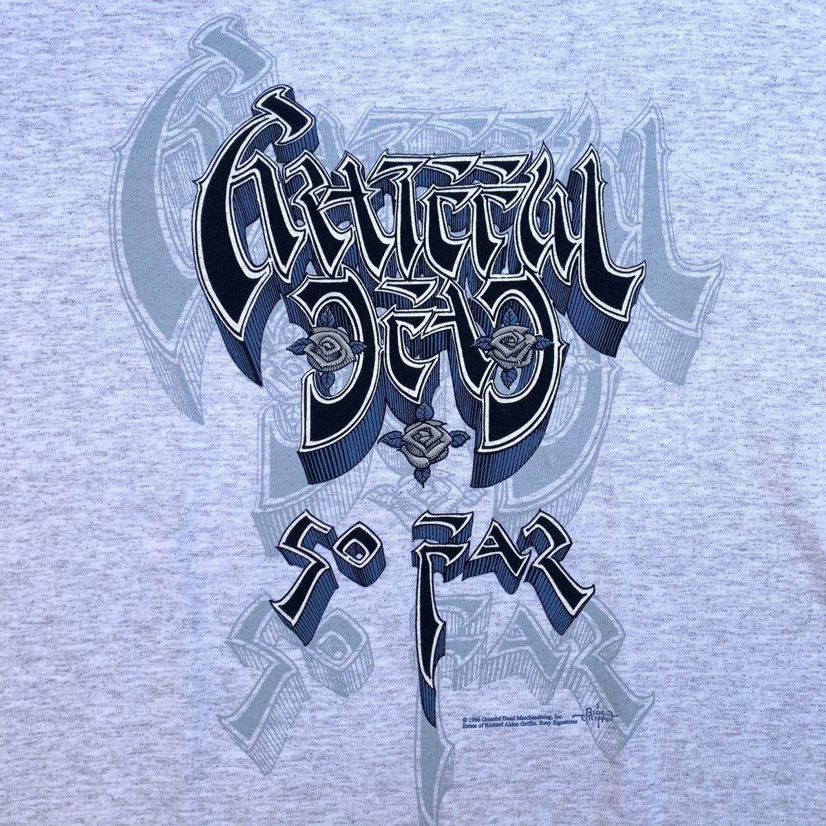 "Original Vintage Grateful Dead 1996 ""So Far"" Tee - Large!"