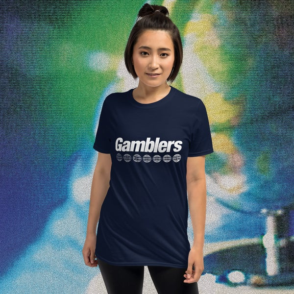 "Image of Gamblers ""Small World Industries"" Unisex Tee"