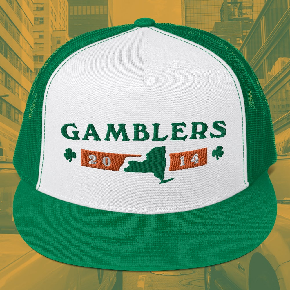 """Image of Gamblers """"19th and 7th"""" Trucker Hat"""
