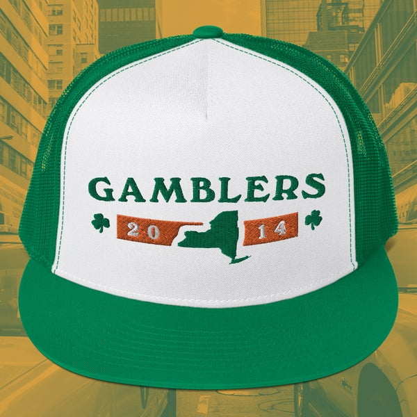 "Image of Gamblers ""19th and 7th"" Trucker Hat"