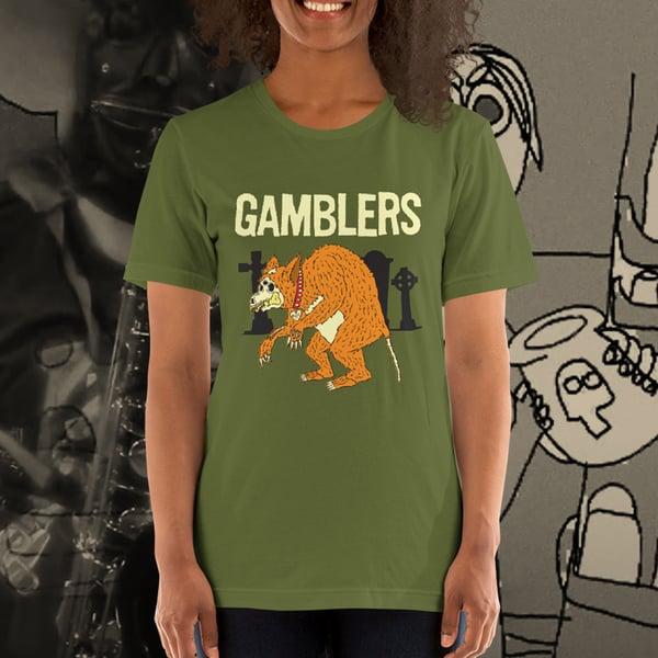 """Image of Gamblers """"Wolfie"""" Tee"""