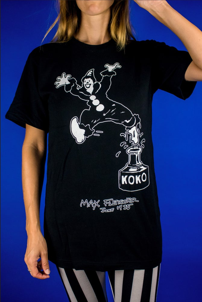 Image of Koko The Clown - Out of the Inkwell T Shirt