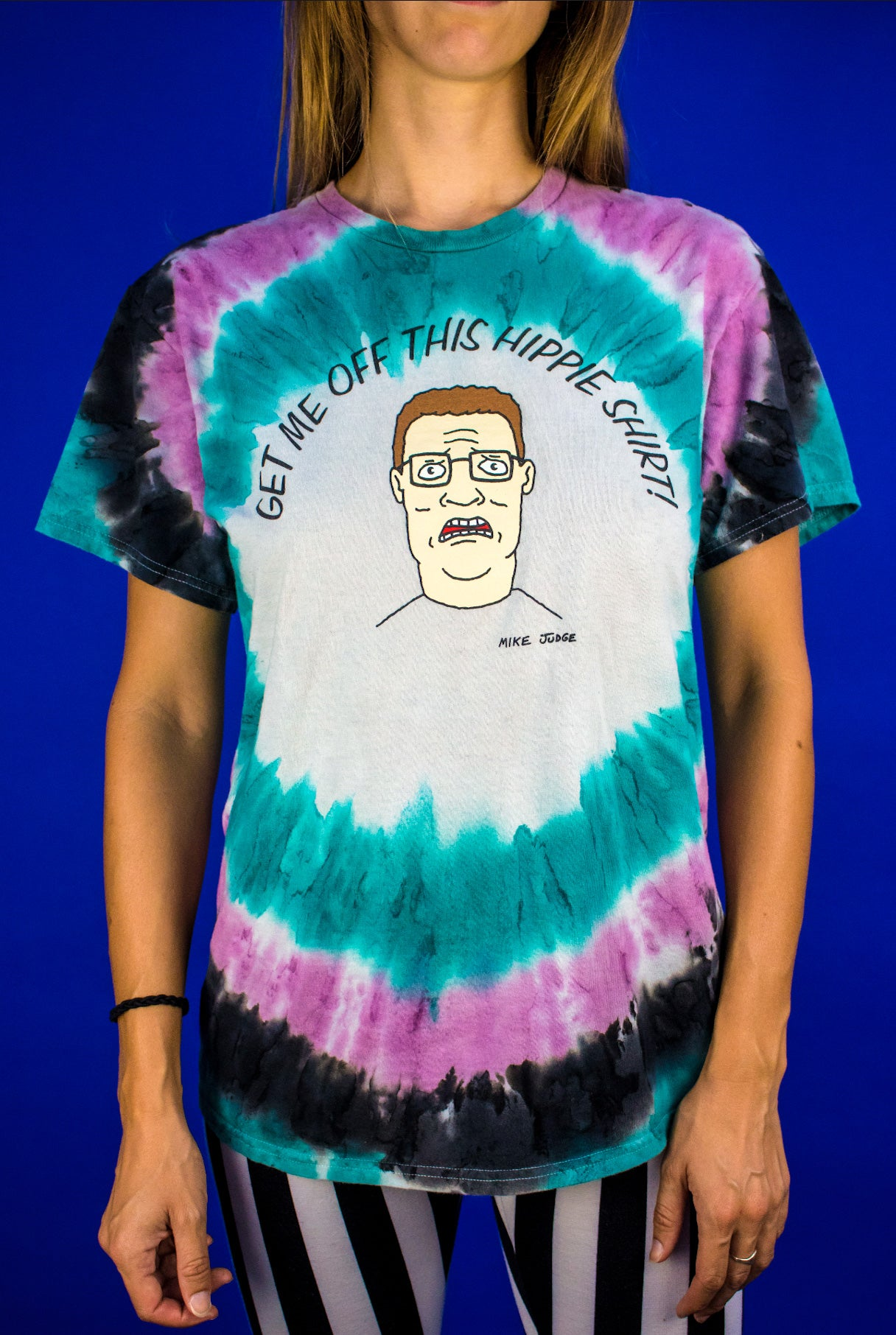 Image of King of the Hill - Hank Hill Tie Dye Shirt