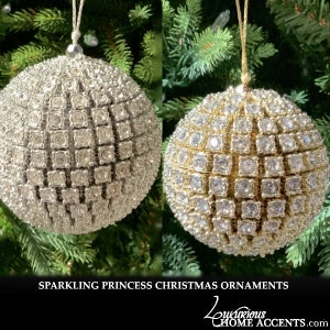 Image of Princess Crystal Christmas Tree Ornaments