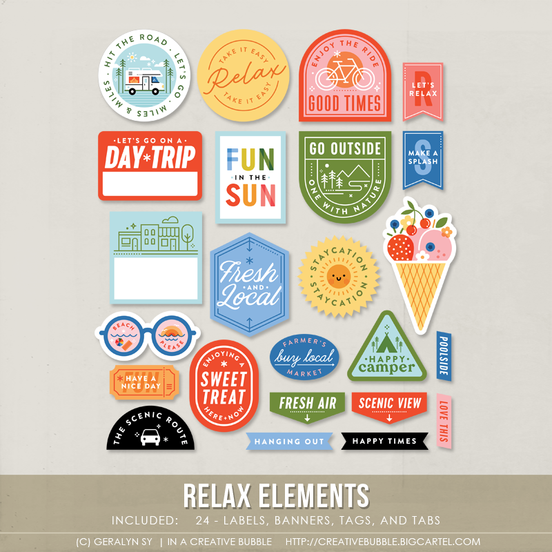 Image of Relax Elements (Digital)