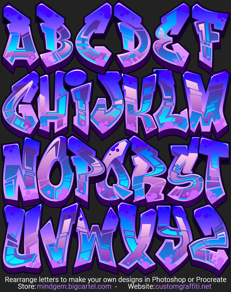 Image of Graffiti Font - Ghost