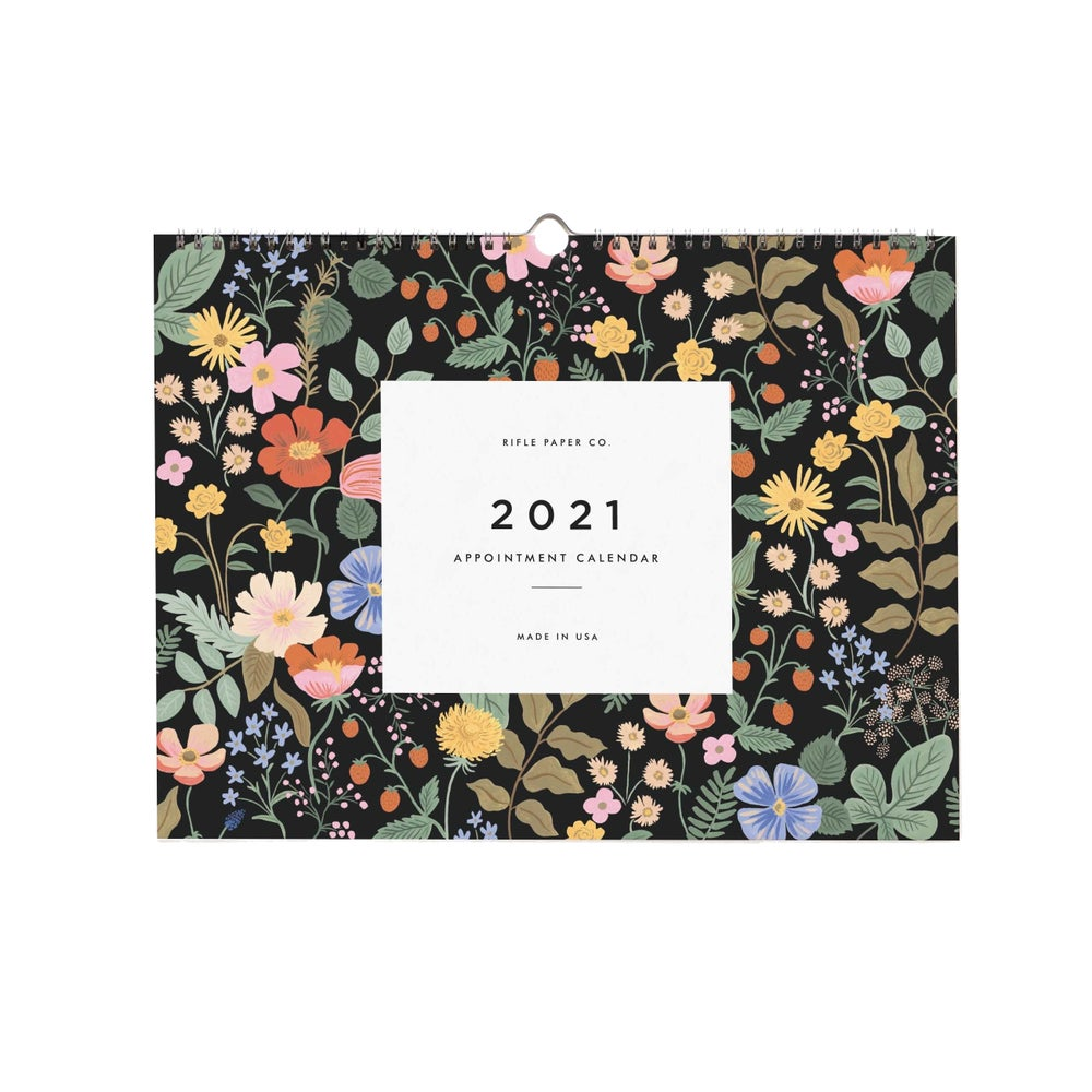 Image of CALENDRIER PLANNER MURAL 2021 GARDEN, RIFLE PAPER CO.