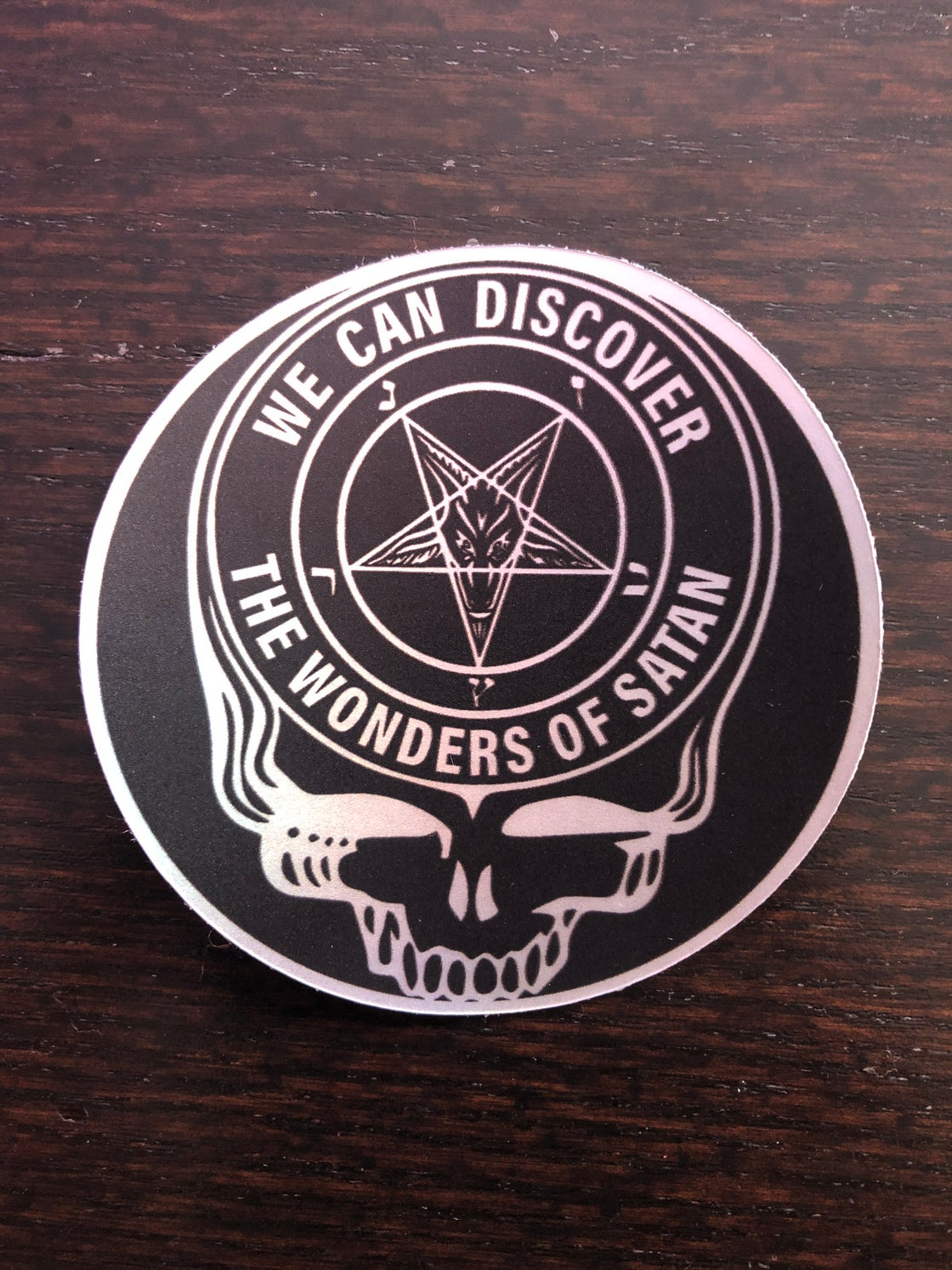Image of Steal Your Satan sticker