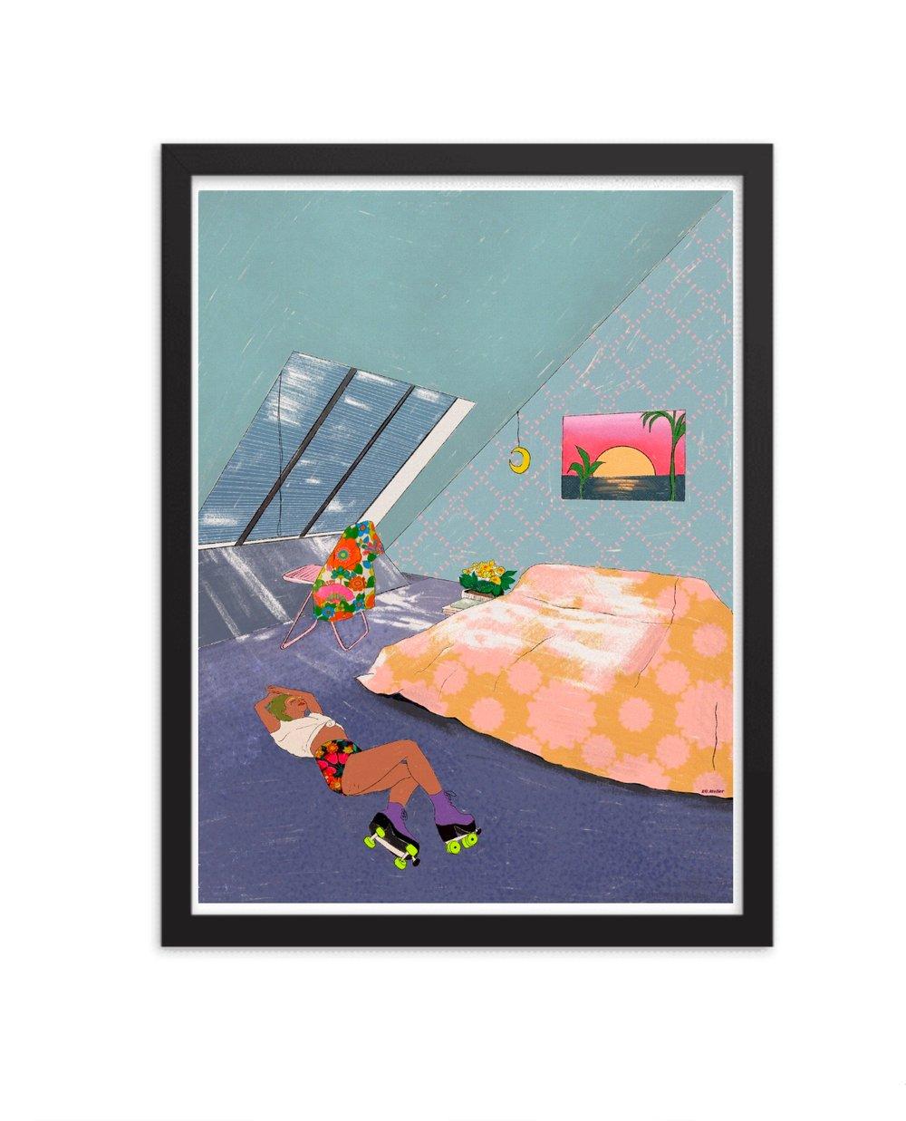 Image of Self Isolation Print