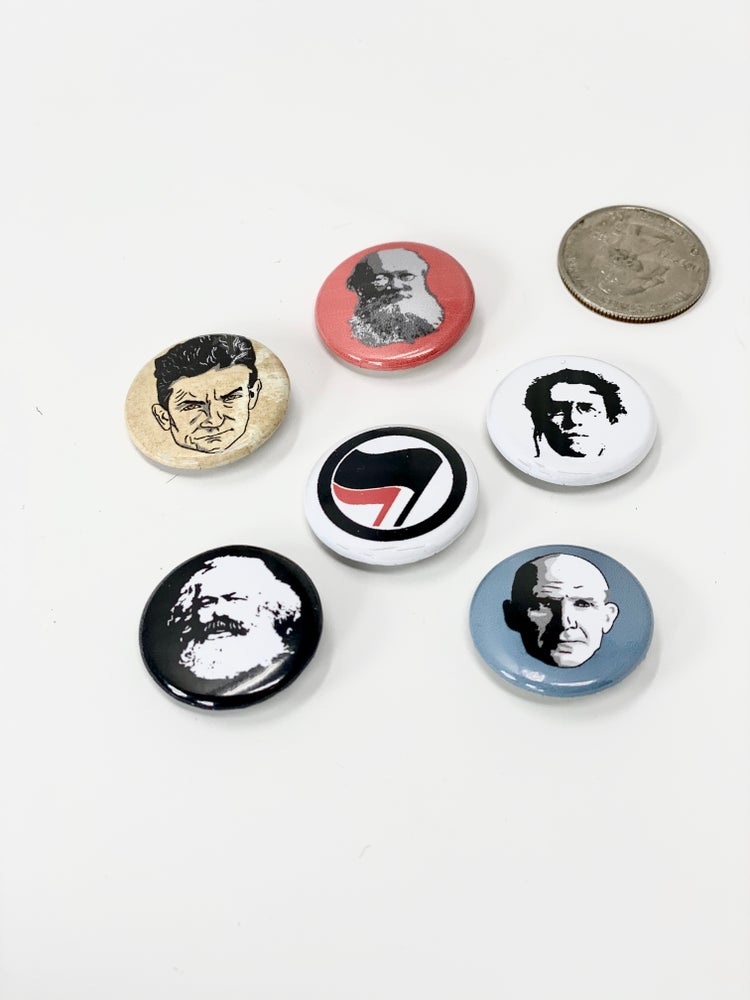 Image of Historical Face Pins