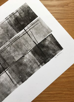 Image of Limited edition black lino 02